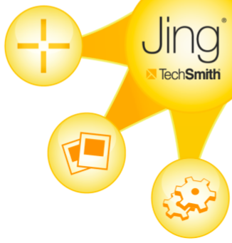 Logo resembling a sun with rays pointing toward different tech devices