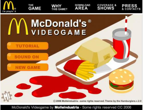 Screenshot of McDonald's Videogame
