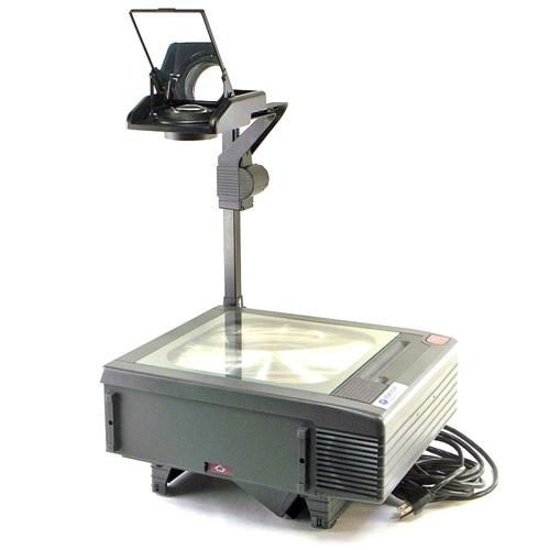 An overhead projector