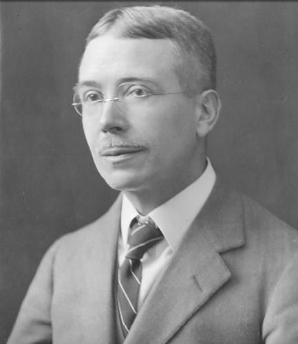 Black and white photograph of William Strunk